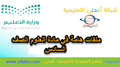 Photo of خرائط لأهم المفاهيم علوم الصف السادس